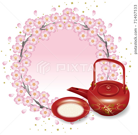 櫻花節日插圖 71407533
