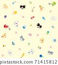 貓圖標(黃色背景)的無盡模式 71415812
