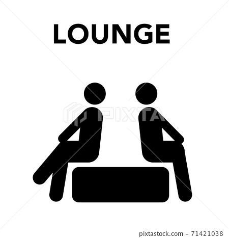 圖標休閒椅 71421038