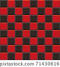 簡單拼貼的無盡模式(紅色和黑色兩個色調) 71430616
