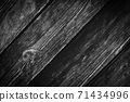 Abstract black background with wooden texture 71434996