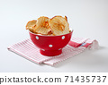 Dried apple chips 71435737