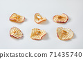 Dried apple slices 71435740