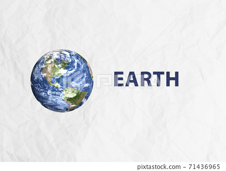 Planet Earth in the space 71436965