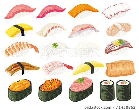 Sushi set 71438862