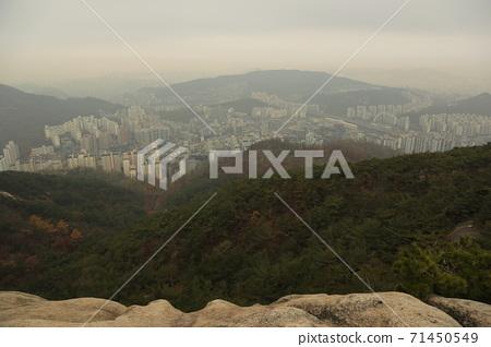 도성.한양.순성길.북악산.서울시.가을 71450549