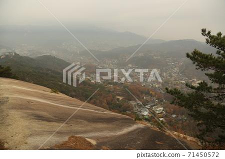 도성.한양.순성길.북악산.서울시.가을 71450572