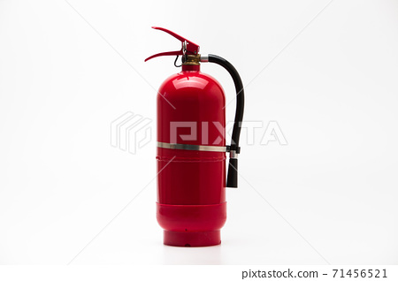 Red Fire Extinguisher Clean Tank isolated 71456521