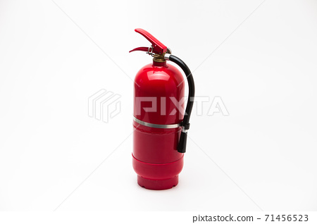 Red Fire Extinguisher Clean Tank isolated 71456523