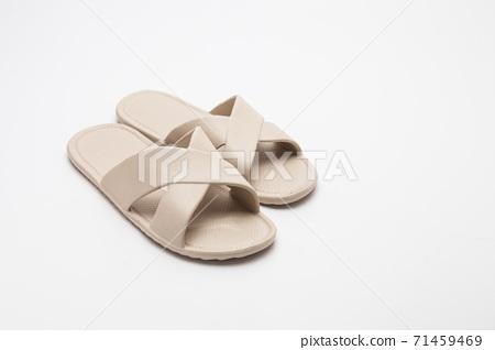 Spa Slipper on white background 71459469