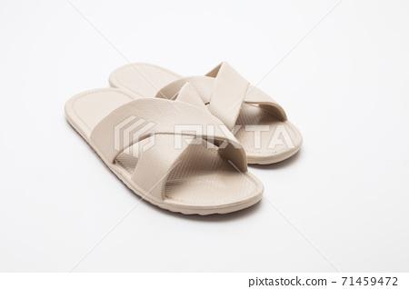 Spa Slipper on white background 71459472