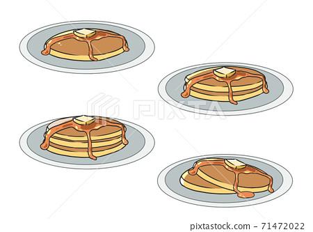 煎餅蜂蜜和黃油 71472022