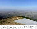 久留米美濃山脈的滑翔機山峰 71483713