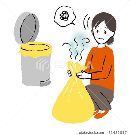 쓰레기를 정리 71485057