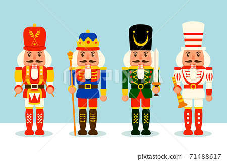 Collection of Christmas Nutcracker toy soldier. 71488617