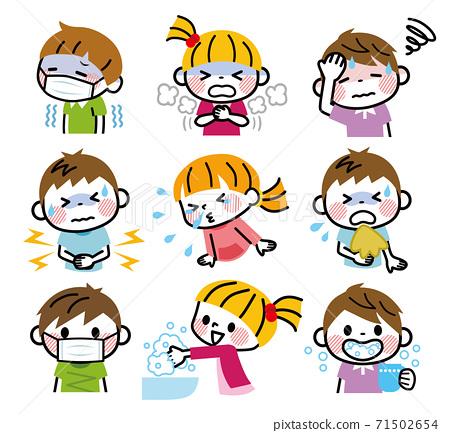 兒童病症狀預防套裝 71502654