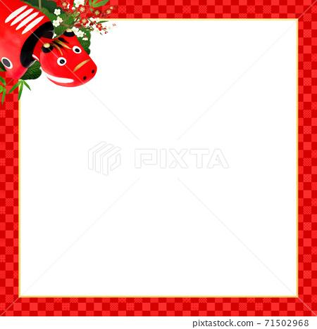 빨강 모든 것이 빨간 체크 무늬 프레임 - 여러 종류가 있습니다 71502968