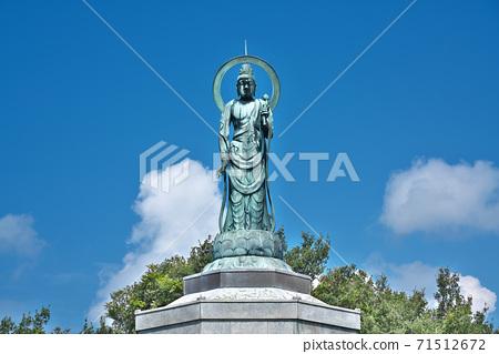 [스 자키 관음】 에히메 현 서쪽 予市 산 페이 도시 周木 71512672