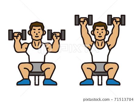 健身房訓練 71513784