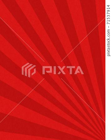 祝賀紅色背景與日出的圖像-存在多種變化 71537914