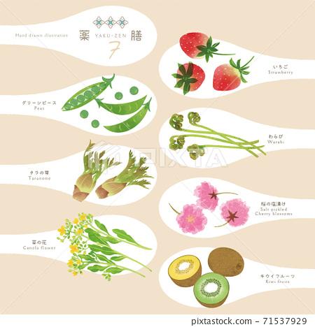 Yakuzen / Chinese medicine ingredients / One scoop illustration-7 71537929