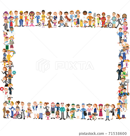 人組,工人組,插圖框架 71538600