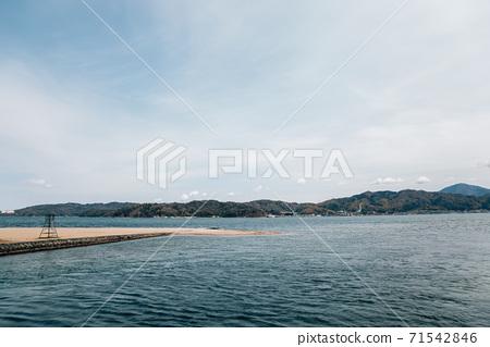 Amanohashidate Park seascape in Kyoto, Japan 71542846