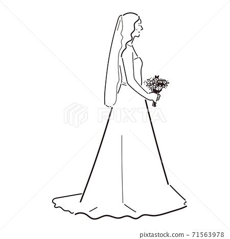 千載難逢的婚紗 71563978
