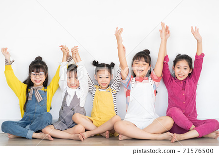 Group of kid, happy 71576500