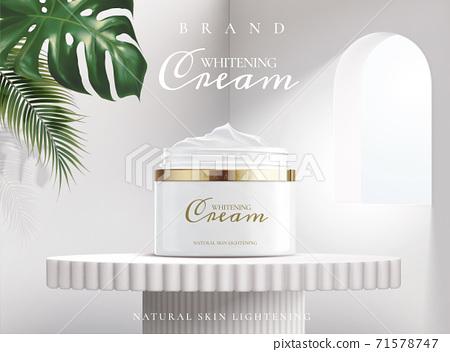 Whitening cream ads poster 71578747