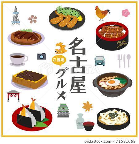 名古屋地方美食特產 71581668