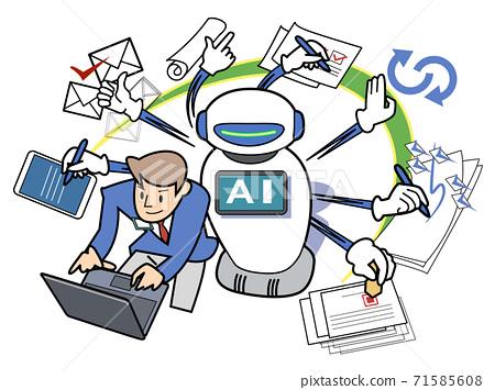 로봇 지원 - 멀티 태스킹 71585608