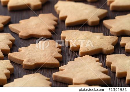 聖誕節 餅乾 聖誕樹 Christmas gingerbread cookie ジンジャークッキー 71595988