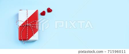 情人節 禮物 頂視 Valentine day gift top view バレンタイン ギフト 71596011