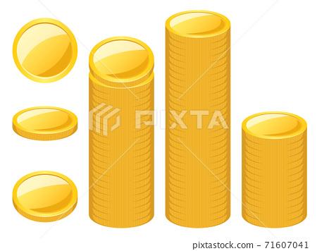 金幣角度和堆疊變化集 71607041