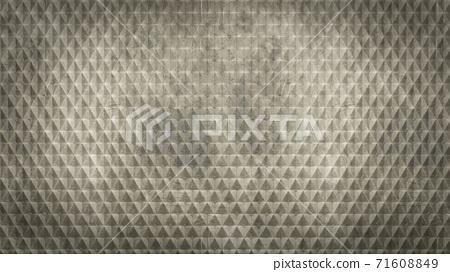 Diamond knurled steel texture background 71608849
