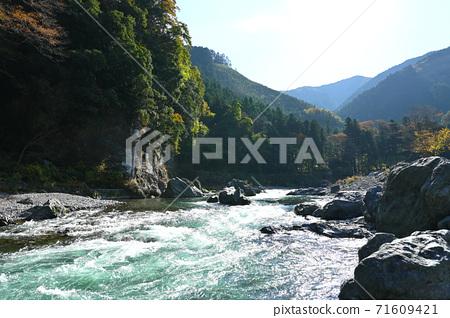 오쿠 타마 _ 계곡의 풍경 _ 가을 71609421
