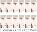 眼瞼比較男性 71621540