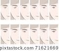 眼皮比較女人 71621669