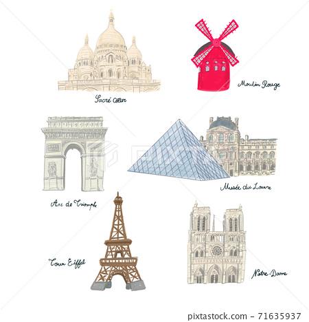 파리의 주요 관광 71635937
