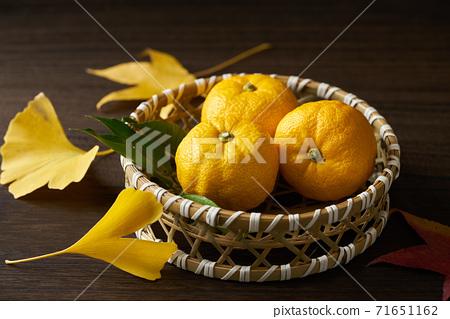 籃子裡的柚子 71651162