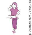 代谢综合症的女人 71665038