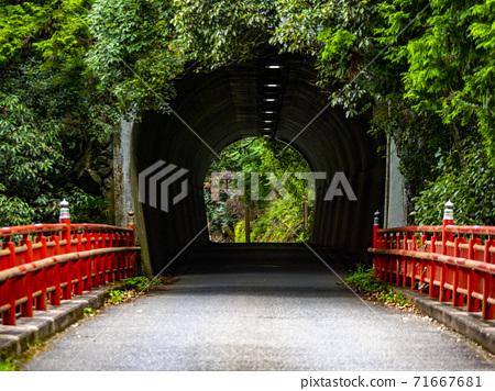 落合橋和落合隧道宇京區,京都 71667681