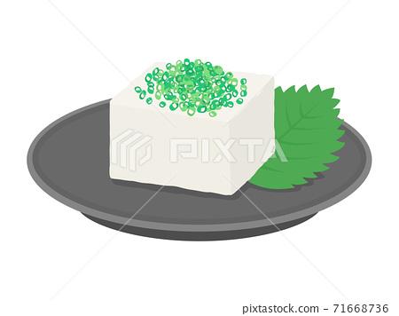 洋蔥豆腐的插圖 71668736