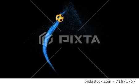 축구 공 농구 3D 일러스트 71671757