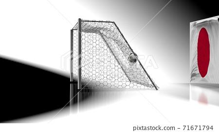 축구 공 농구 3D 일러스트 71671794