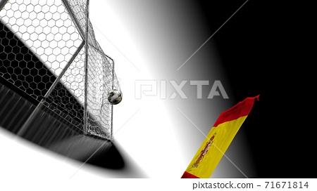 축구 공 농구 3D 일러스트 71671814