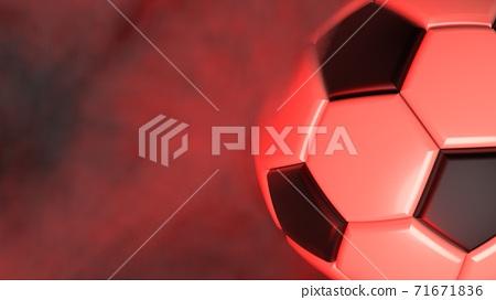축구 공 농구 3D 일러스트 71671836