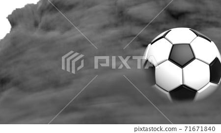축구 공 농구 3D 일러스트 71671840