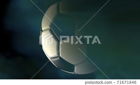 축구 공 농구 3D 일러스트 71671846